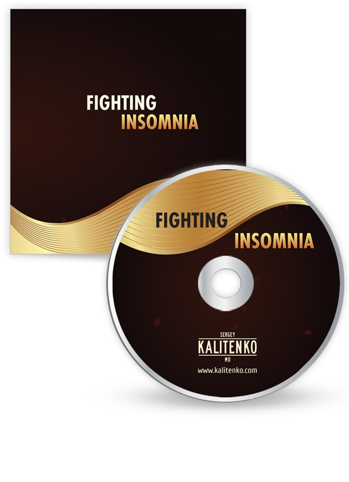 Дизайн обложки/конверта CD дисков: Fighting Insomnia